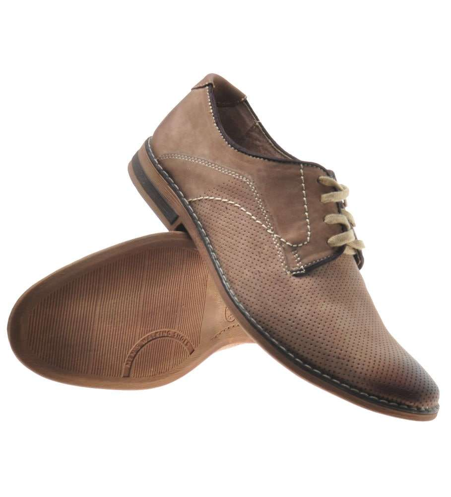 skórzane męskie buty